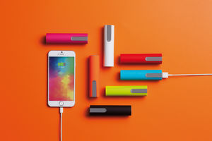 Chargeur 2200 mAh Rouge 5